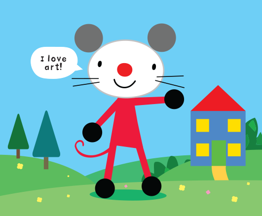 Meet Arty Mouse